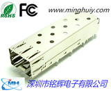 SFP socket -1X1 crimp type - without light guide